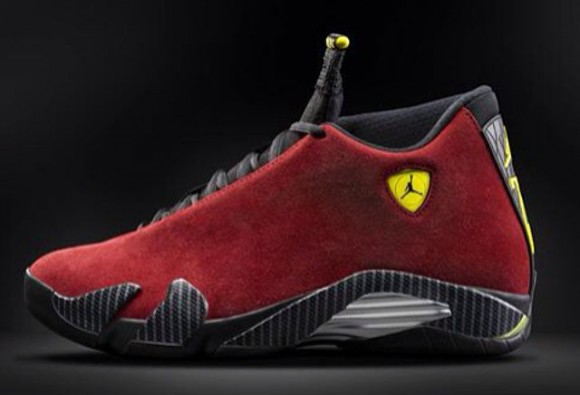 Air Jordan 14 Retro Red Suede First Look