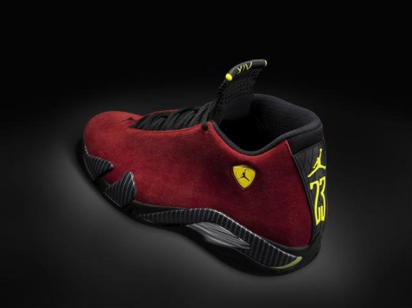 Air Jordan 14 Retro Red Suede First Look