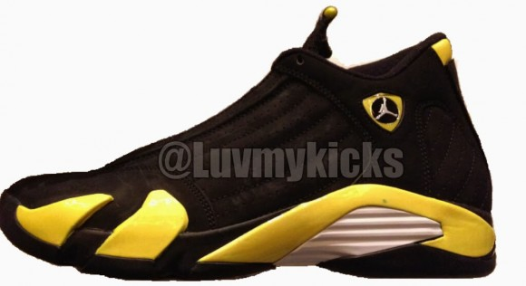 Air Jordan 14 Retro Thunder Release Information