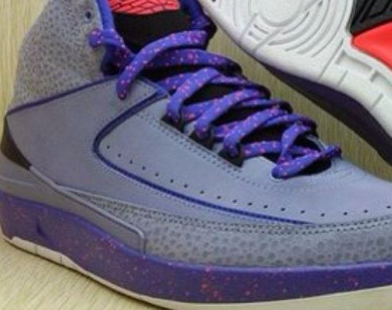 Air Jordan 2 Purple Red Black First Look
