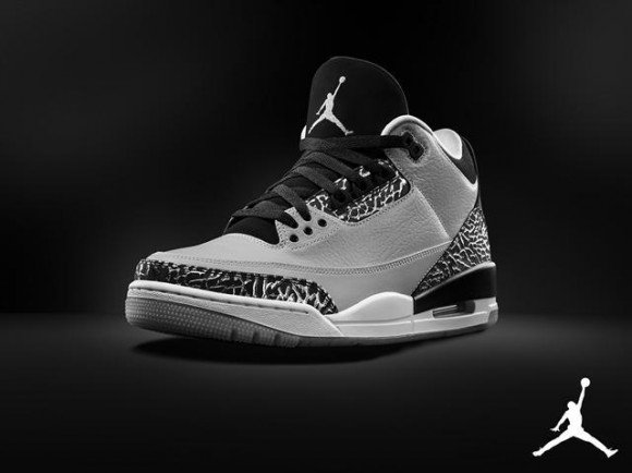 Air Jordan 3 Retro Wolf Grey Official Look