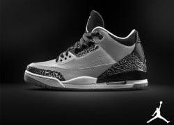"Air Jordan 3 Retro ""Wolf Grey"" – Official Look"