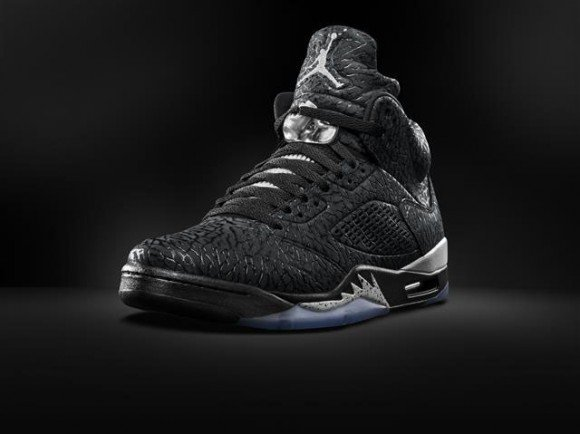 Air Jordan 3Lab5 Black Silver First Look