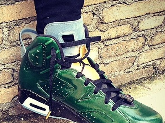 Air Jordan 6 Champagne Another Look