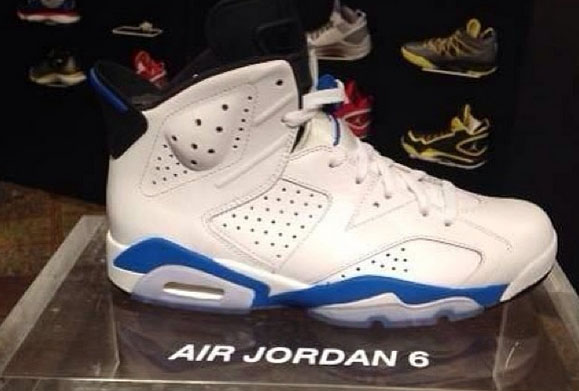 Air Jordan 6 Retro Sport Blue Release Information