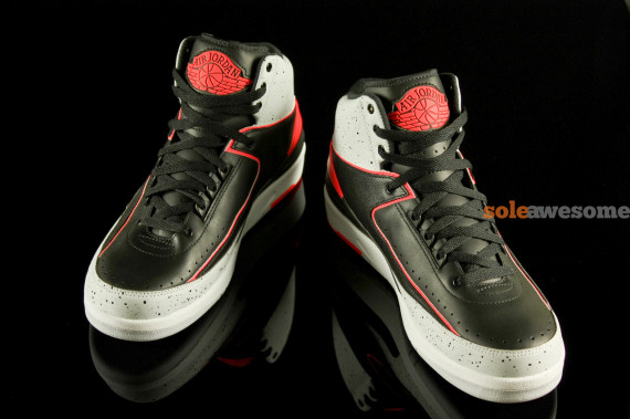 Air Jordan 2 Retro Infrared Cement Yet Another Look