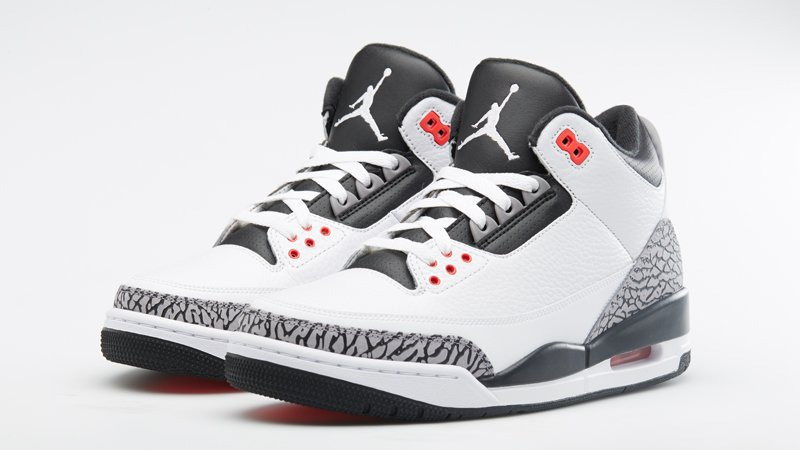 Air Jordan III (3) Infrared 23 | Foot Locker Release Details