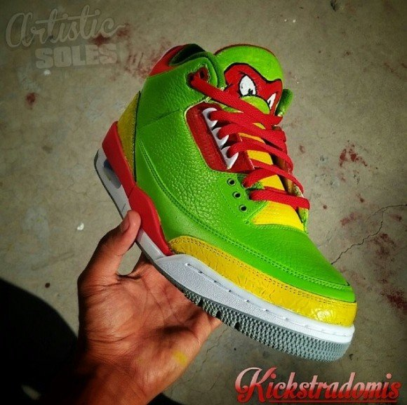 air-jordan-iii-3-ninja-turtles-customs-kickstradomis