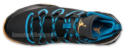 Air Jordan XX8 SE Black Atomic Mango Dark Powder Blue