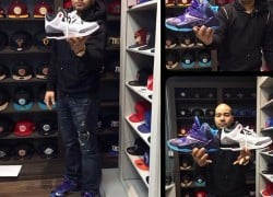 Celebrity Sneaker Watch: DJ Envy Previews New 'Hornets' & 'Infrared 23′ Kicks