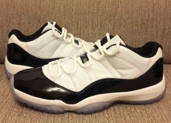 "Air Jordan XI Low ""Concord"" – Closer Look"