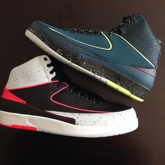 Fat Joe Shows Off His Latest Air Jordan 2 Pick-ups