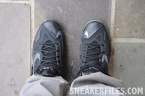 Nike LeBron 11 Stealth On-Foot Look