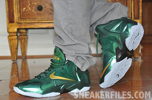 Nike LeBron 11 SVSM PE On-Foot Look
