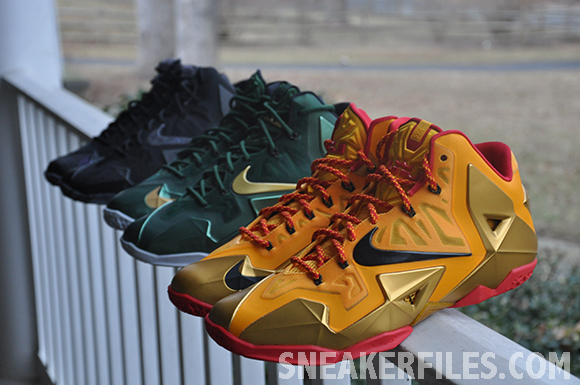 Nike LeBron 11 Fairfax PE Another Look
