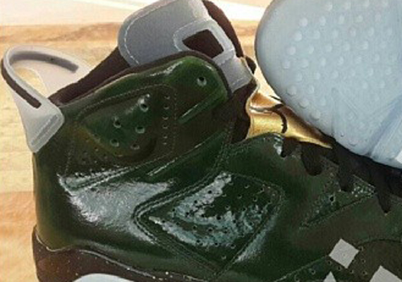 Air Jordan 6 Champagne and Cigars Pack Another Look