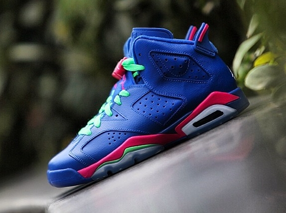 Air Jordan 6 Retro GS Game Royal Release Information