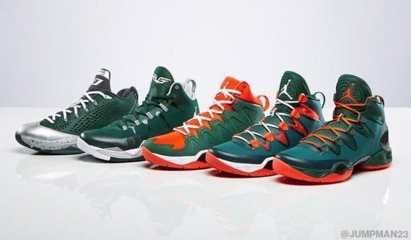 Jordan Brand  St. Patrick's Day PEs Official Look