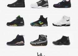 Jordan High Fashion Sneaker Concepts