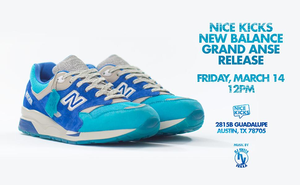 Nice Kicks x New Balance 1600 Grand Anse Release Date + Info