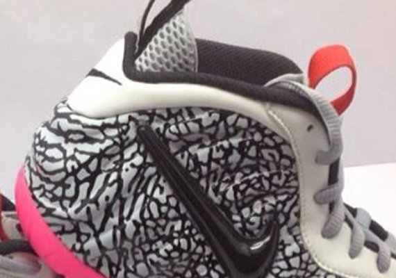 Nike Air Foamposite Pro Elephant Print First Look