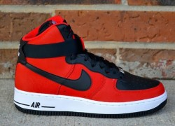 Nike Air Force 1 High – University Red – Black – Now Available