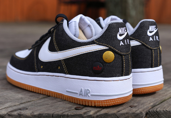 Nike Air Force 1 Low Black Denim Another Look