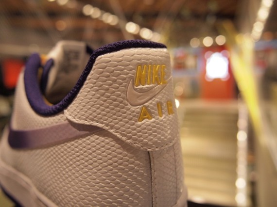 Nike Air Force 1 Low Lakers Release Info