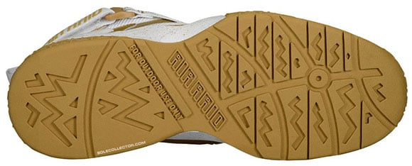 Nike Air Raid Metallic Gold White - Release Date