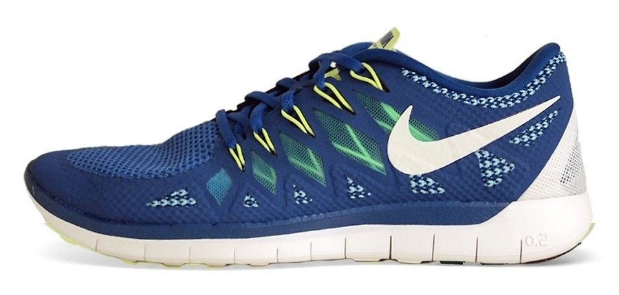 premium selection facf0 3f71c Nike Free 5.0 Military Blue Mid Navy