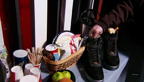 Nike Gifts Shaq with Air Force 1 on Inside the NBA