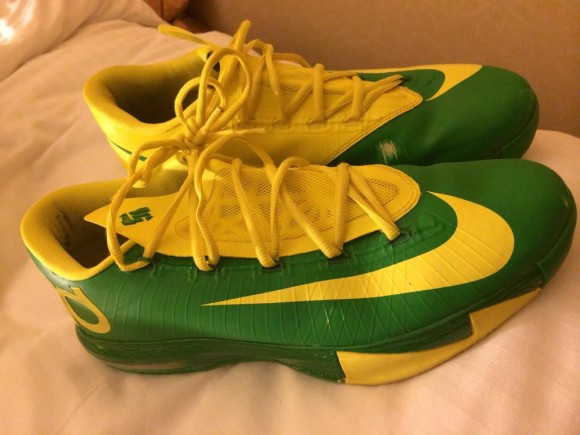 Nike KD 6 Oregon Ducks PE First Look