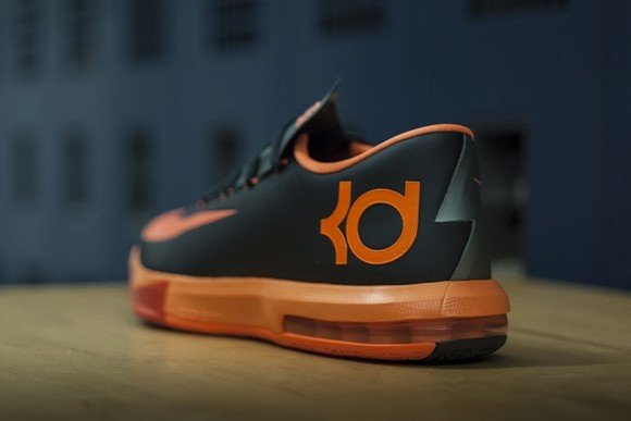 Nike KD 6 Anthracite Detailed Look