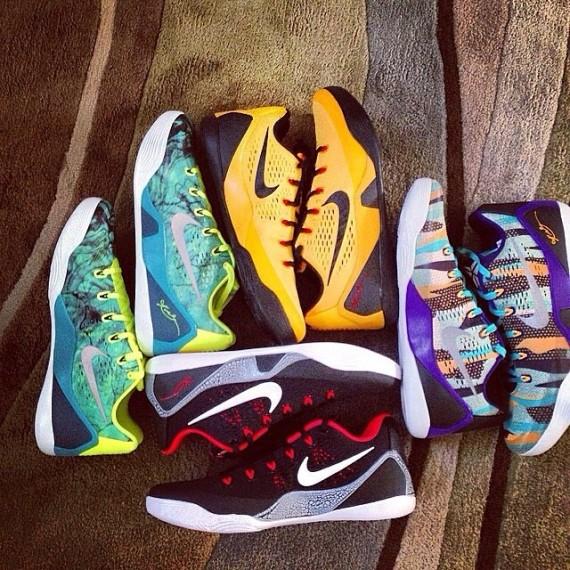 Nike Kobe 9 EM Upcoming Colorways
