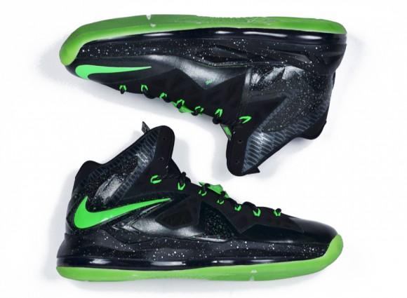 Nike LeBron 10 Elite Oregon Ducks by DMC Kicks