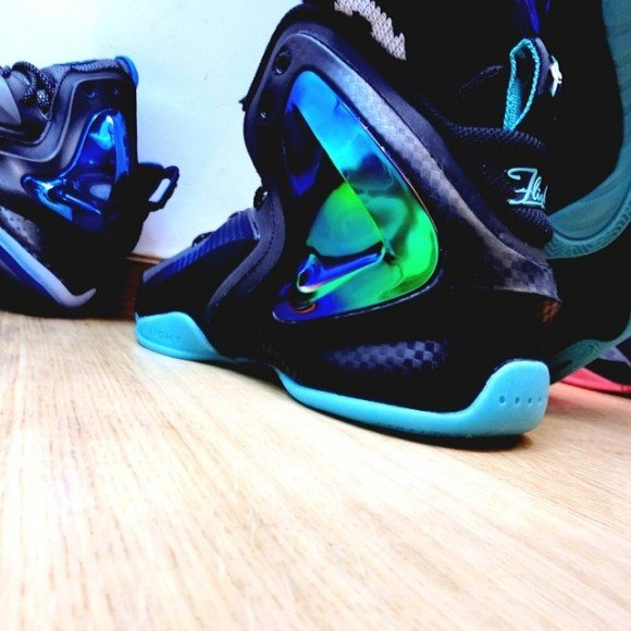 Nike Lil Penny Posite Jade On-Foot Look