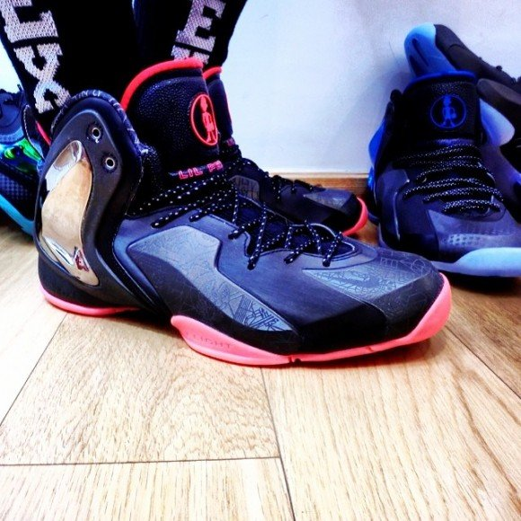 Nike Lil Penny Posite NOLA Gumbo League On-Foot Look