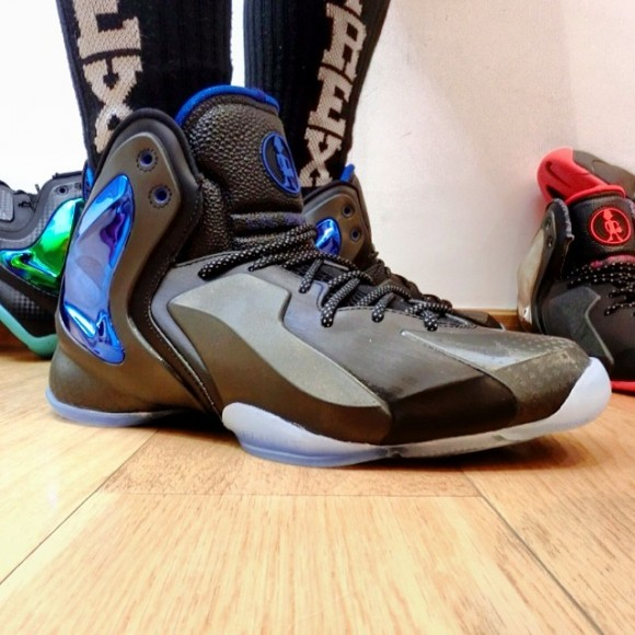 Nike Lil Penny Posite Orlando On-Feet Look