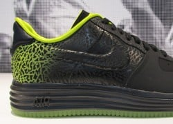 "Nike Lunar Force 1 ""Elephant Print Fade"" – Black – Green – First Look"