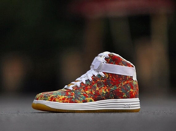 Nike Lunar Force 1 Hi Paint Splatter