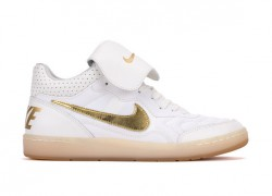 Nike Tiempo '94 Mid Ivory / Gold and Black / Gold