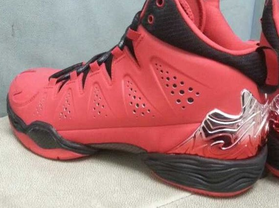 Jordan Melo M10 Red Suede First Look