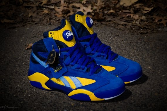 "827e4cf2109e42 Packer Shoes x Reebok Shaq Attaq ""Blue Chips"" – Release Information ..."