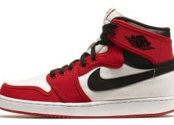 Release Reminder: Air Jordan 1 Retro KO High 'White/Black-Gym Red'