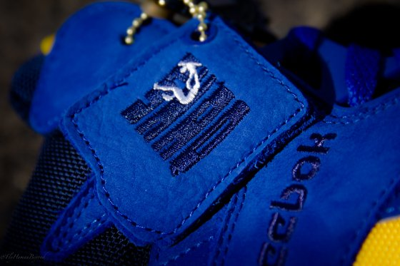 Packer Shoes x Reebok Shaq Attaq Blue Chips Release Information