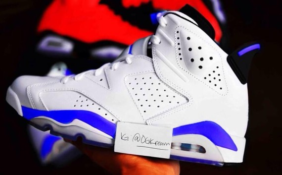 Air Jordan 6 Sport Blue Quick Look