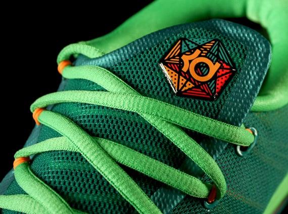 Nike KD 6 Elite Turbo Green Closer Look