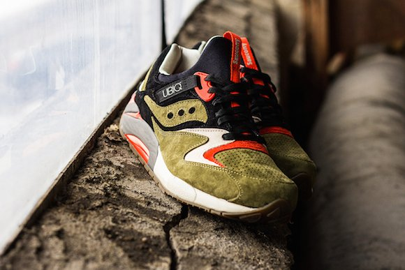 saucony grid 9000 olive