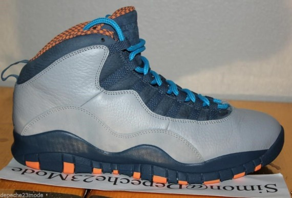 Air Jordan 10 Bobcats Unreleased Leather Sample
