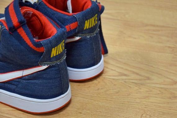 Nike Vandal High Denim Now Available